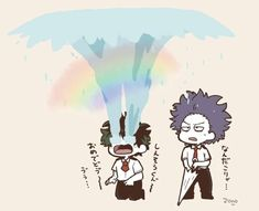 poor shinsou doesn't know what to do with the crying cinnamon child X3
