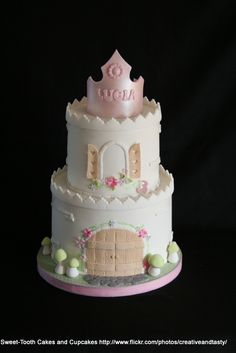Girly Castle Princess Cake | by Creative and Tasty Treats (Sandy) 305-218-8603