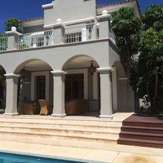 """""""Lækker lille ferie-hytte  Tak til @elizabethfabricius ' familie for at adoptere mig i nogle dage ❤️ #marbella"""""""