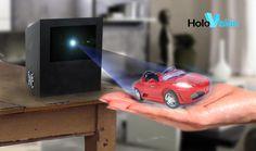 Holovision: Life Size Free-Floating Hologram In The Making #technology