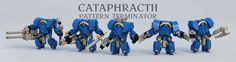 https://flic.kr/p/EpSpu9   Cataphractii Pattern Terminator   Based on these miniatures. Weapons 360° rotation