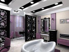 Beauty Salon Floor Plan Design Layout - 1400 Square Foot | New ...