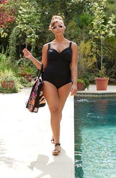 380c552ae3 Miraclesuit® Sanibel Underwire One-Piece Swimsuit (Plus Size)