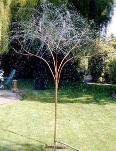 RainTree Sprinklers  We make life-size copper misting trees, sprinkler trees, and fountains for cooling people and pets and watering lawns and...