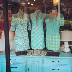 ready for a change? If it's not going to cool down then let's get this spring party started!  Coastal Classics from Sailor Sailor & All For Color! Greens and Turquoise shades look great! #seasaltstyle #stuartfl