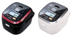 This Panasonic rice cooker is controlled by a smartphone.