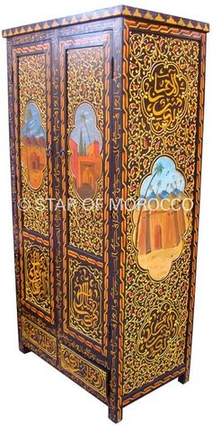 photo coffre marocain image 1 4 zouac pinterest. Black Bedroom Furniture Sets. Home Design Ideas