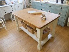 country kitchen island tables | Kitchen table