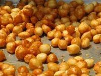 """This is an absolutely delicious traditional Greek sweet served all year round! They are called """"Loukoumades"""". Their aroma is magnetic and their taste is addictive! Make them fre. Greek Sweets, Greek Desserts, Greek Recipes, Cantaloupe Recipes, Radish Recipes, Sweets Recipes, Cooking Recipes, Frangipane Recipes, Kitchens"""