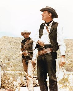 Actors Ben Johnson and William Holden in a scene from the western 'The Wild Bunch' 1969 Western Film, Western Movies, Western Art, Westerns, Cowboy Films, Sam Peckinpah, The Wild Bunch, Steampunk, Cinema