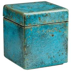 Faience Box with cover