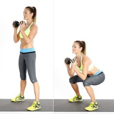 Circuit One: Goblet Squat