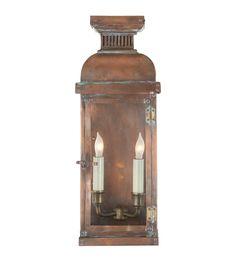 suzanne kasler honore lighting   Visual Comfort CHO2063NC E. F. Chapman Suffork Medium 3/4 Lantern in ...