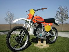 Vintage Penton Dirt Bike - These Motorcycles Were Powered With KTM Motors.