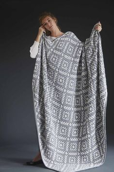 Ravelry: #09 Mosaic Blanket pattern by Susan Lowman