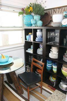 ceramics (dish) storage
