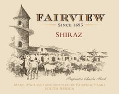 I went to Fairview in Paarl, South Africa back in Wonderful vineyard tour, great cheese and of course the wine! Online Wine Store, Order Wine Online, Black Cherry Fruit, Wine Club Monthly, South African Wine, Barolo Wine, Virginia Wineries, Wine Night, Wine Case