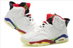 uk availability 7f556 e3281 Buy Air Jordan 6 VI Retro Mens Glowing Shoes White Black Red Discount from  Reliable Air Jordan 6 VI Retro Mens Glowing Shoes White Black Red Discount  ...