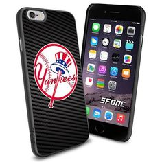 New York Yankees MLB Carbon Logo WADE5915 Baseball iPhone 6 4.7 inch Case Protection Black Rubber Cover Protector WADE CASE http://www.amazon.com/dp/B013Y5BFOW/ref=cm_sw_r_pi_dp_L6Zowb0RTTH4A