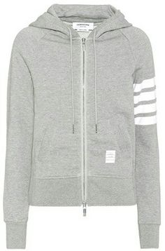 Grey Cotton Sweat Shirt by Thom Browne Sports Luxe, Thom Browne, Off Duty, Moncler, Hoodies, Sweatshirts, Hooded Jacket, Fashion Online, Branding Design