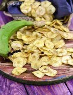 86 raw banana recipes   Tarladalal.com Veg Recipes, Vegetarian Recipes, Snack Recipes, Cooking Recipes, Fast Recipes, Drink Recipes, Banana Recipes Indian, Indian Food Recipes, Seekh Kebab Recipes