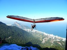 Voo asa delta da Pedra Bonita, Rio de Janeiro