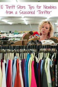 10 Tips for Thrift Store Newbies From a Seasoned 'Thrifter' - Sunshine Whispers (Sponsored Post)  http://www.sunshinewhispers.com/2015/06/10-tips-for-thrift-store-newbies-from-a-seasoned-thrifter/