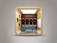 Inspiration Mobile #15 : 30 icones originales et finement illustrées | Blog du Webdesign