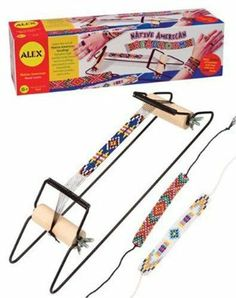 This Kit Includes Over 2,000 Seed Beads, Thread,N A Beading Needle, And A Loom. - Alex Native America Bead Loom by Alex. $48.80. This kit includes over 2,000 seed beads, thread,n a beading needle, and a loom.. Make beautiful intricate beaded bracelets and necklaces.. Learn the ancient art of Native American beading.. Instruction booklet gives lots of projects to do and easy to follow instructions.. Alex Native America Bead LoomLearn the art of Native American beading!Learn the an...