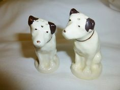 Vintage R C A Dogs Salt and Pepper Shakers by GoodysFromThePast, $54.00