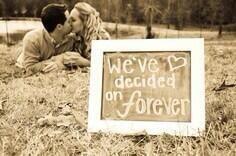 We've decided on forever