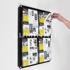 Luminati provide acrylic media and brochure stands covering a wide range of styles and types. We stock acrylic dump bins, brochure stands & magazine stands. Brochure Stand, Brochure Holders, Magazine Wall, Magazine Stand, Business Card Displays, Property Management, Board Ideas, Storage, Literature