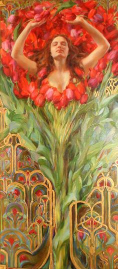 Up for auction on Tuesday 18th July - Painting by Rose Frantzen