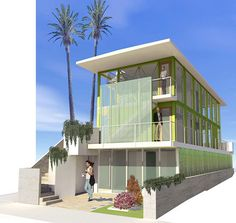 Venice Beach Residences by De Maria Design | #OrganicSpaMagazine