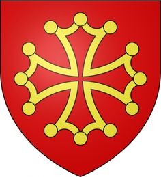 Languedoc coat of arms Toulouse, Hugues Capet, Medieval, Banner, Ville France, The Third Reich, Human Soul, Chivalry, Knights Templar