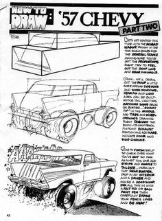 Trosley How to Draw '57 Nomad