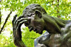 Sculpture de Pierre de Wissant par Auguste Rodin, Musée Rodin, à Paris   © Charlotte Dumas