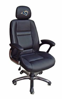 Shop Staples® for Wild Sports MLB Leather Executive Chair, Black. The Wild Sports MLB leather executive chair is ideal for all you St. Black Office Chair, Mesh Office Chair, Office Desk, Orange Office, Office Setup, Upholstered Dining Chairs, Wingback Chair, Swivel Chair, Chair Cushions