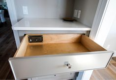 Docking Drawer Installation Quality Cabinets, Copper Wall, Electrical  Outlets, Wall Tiles, Kitchen