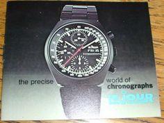 Lejour Precise World Of Chronographs-Vintage Brochure-