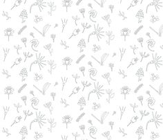 Floral frenzy fabric by t-w-i-n-k-l-e on Spoonflower - custom fabric