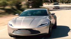 Driving the James Bond's 2016 Aston Martin DB10