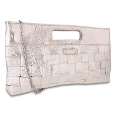@Overstock - The Miadora Jenni oversized metallic clutch is a beautiful accessory that matches any outfit. This gorgeous bag features shiny silver sequins over a faux leather material and a nylon inner lining, providing durability and style in one. http://www.overstock.com/Clothing-Shoes/Miadora-Jenni-Oversized-Silver-Metallic-Clutch/7217905/product.html?CID=214117 CAD              80.71
