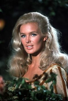 """Pictures & Photos from The Big Valley (TV Series 1965–1969) - IMDb tles: The Big Valley Names: Linda Evans Characters: Audra Barkley """"The Big Valley"""" Linda Evans on the set 1966 ABC"""