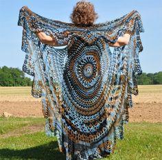 (4) Name: 'Crocheting : Boho Bohemian Vest-Stevie style $6.30 on Craftsyshawl