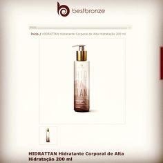 Alguém aí conhece o lançamento do mês de Aniversário da Best Bronze? Hidrat Tan seu Hidratante de Alta Hidratação. Sua pele e seu Bronzeado agradecem.