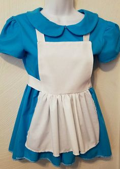 Tween Girl 10-14 Alice Inspired Costume by MandEmDesignsStudio
