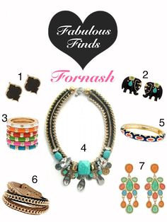My picks from Fornash Jewelry