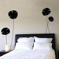 Fashionable Wall Decal, Customized Designs are Accepted, Removable and Non-toxic