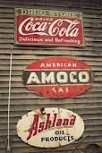 I love old antique signs!!